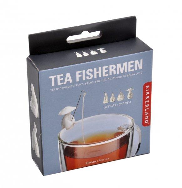Čajová držátka - rybáři