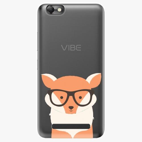 Plastový kryt iSaprio - Orange Fox - Lenovo Vibe C