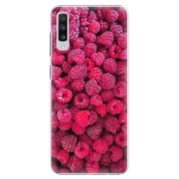 Plastové pouzdro iSaprio - Raspberry - Samsung Galaxy A70