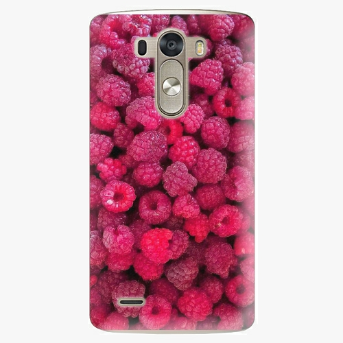 Plastový kryt iSaprio - Raspberry - LG G3 (D855)
