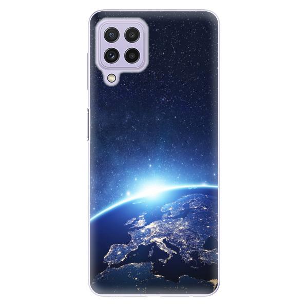 Odolné silikonové pouzdro iSaprio - Earth at Night - Samsung Galaxy A22