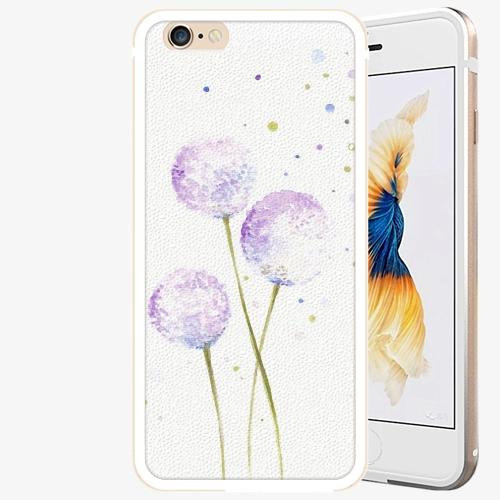 Plastový kryt iSaprio - Dandelion - iPhone 6 Plus/6S Plus - Gold