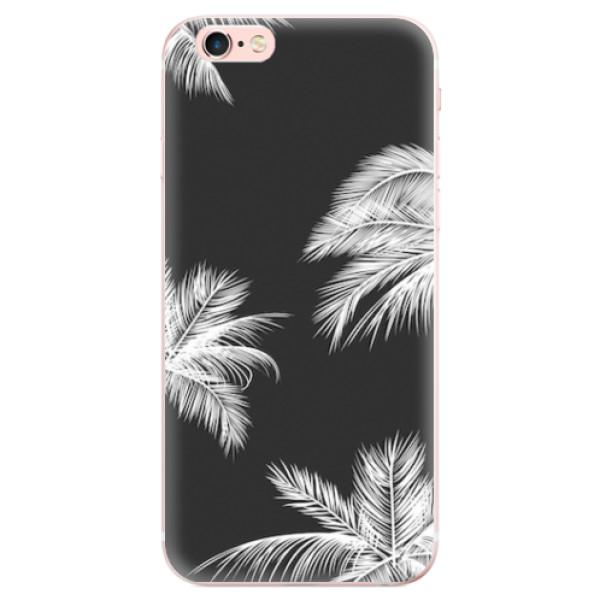 Odolné silikonové pouzdro iSaprio - White Palm - iPhone 6 Plus/6S Plus