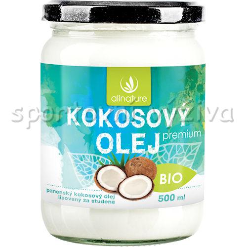 Allnature BIO Kokosový panenský olej 500ml
