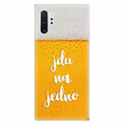 Silikonové pouzdro iSaprio - Jdu na jedno - Samsung Galaxy Note 10+