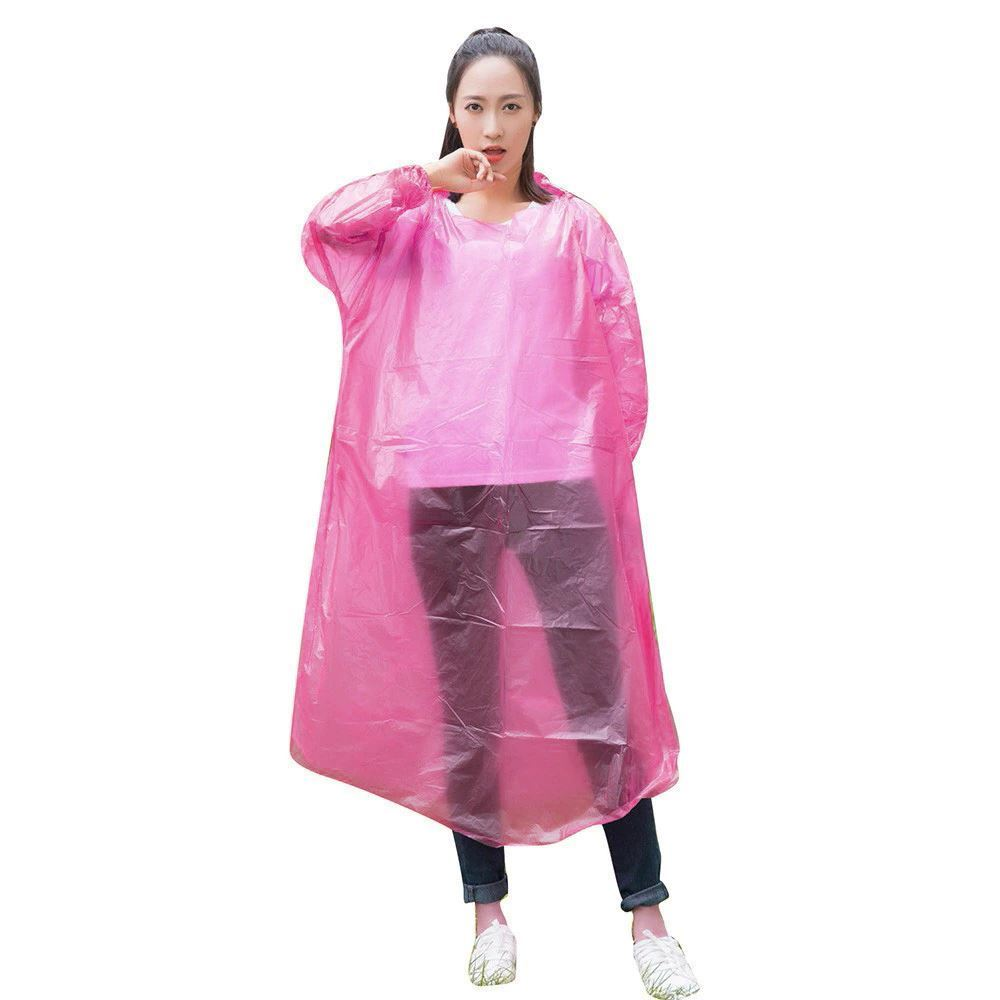 Pohotovostní pláštěnka - růžová