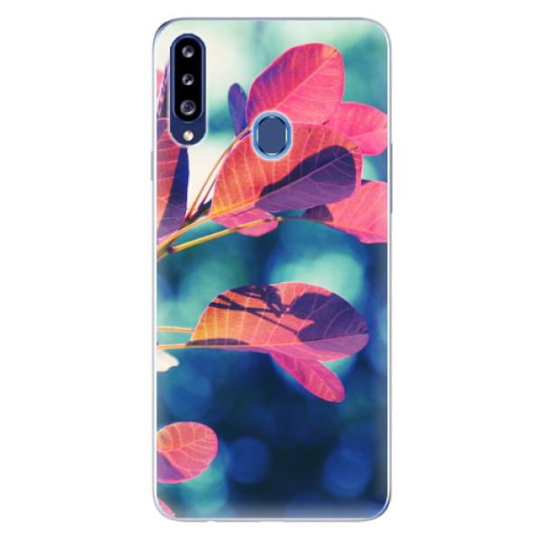 Odolné silikonové pouzdro iSaprio - Autumn 01 - Samsung Galaxy A20s
