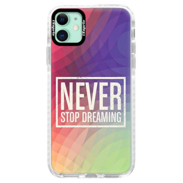 Silikonové pouzdro Bumper iSaprio - Dreaming - iPhone 11