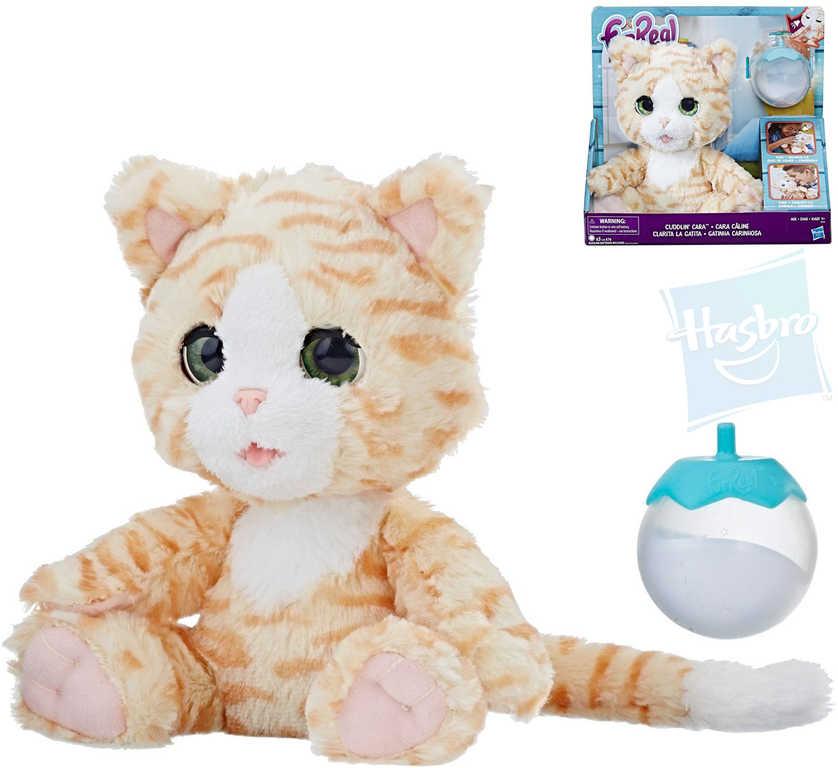 HASBRO PLYŠ Fur Real Kočička interaktivní mazlící set s lahvičkou na baterie Zvuk