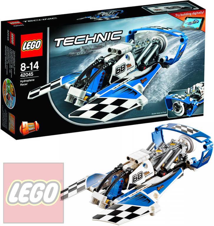 LEGO TECHNIC Závodní hydroplán 42045 STAVEBNICE