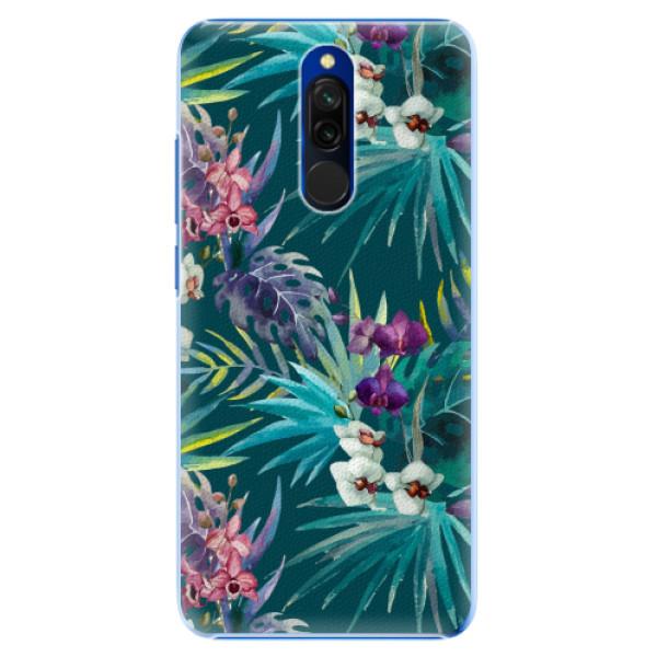 Plastové pouzdro iSaprio - Tropical Blue 01 - Xiaomi Redmi 8