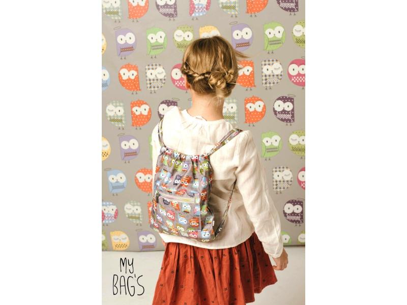 My Bags - Víceúčelový batůžek se sovičkami