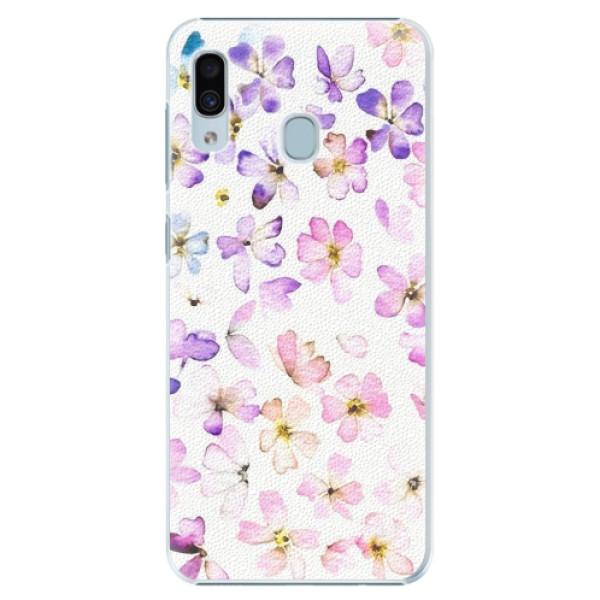 Plastové pouzdro iSaprio - Wildflowers - Samsung Galaxy A20