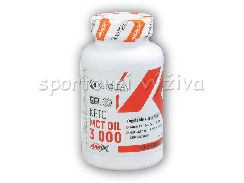 Keto goMCT Oil 3000mg 100 Vcaps
