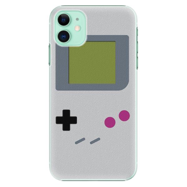 Plastové pouzdro iSaprio - The Game - iPhone 11