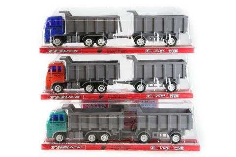 Kamion s přívěsem setrvačník