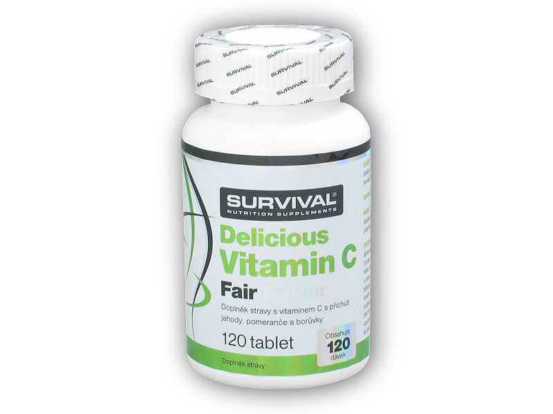 Delicious Vitamin C Fair Power 120 tablet