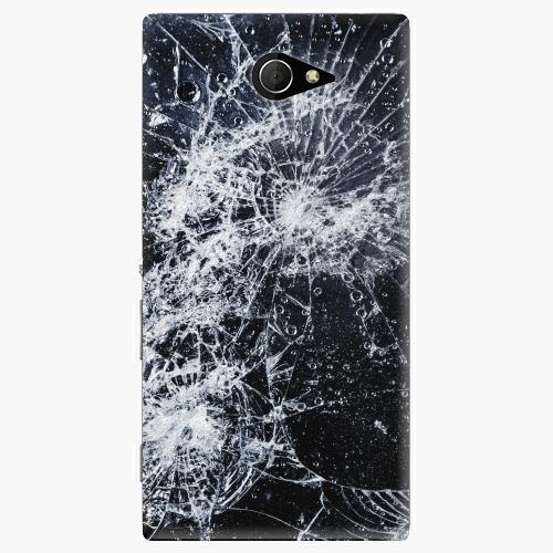 Plastový kryt iSaprio - Cracked - Sony Xperia M2