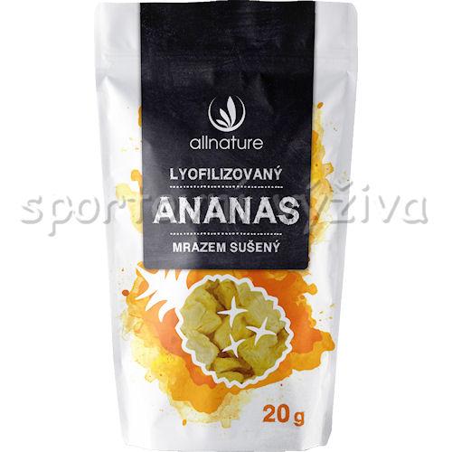 Allnature Ananas sušený mrazem kousky 20g