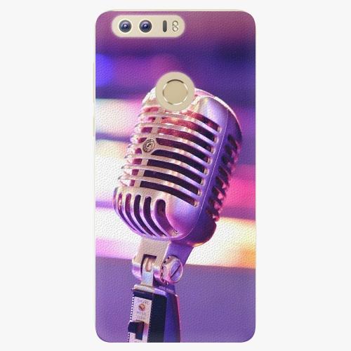 Plastový kryt iSaprio - Vintage Microphone - Huawei Honor 8