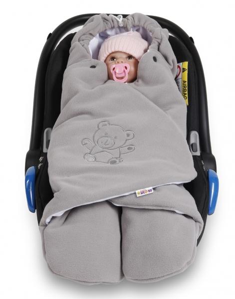baby-nellys-detska-zavinovacka-fusak-polar-bio-bavlna-seda