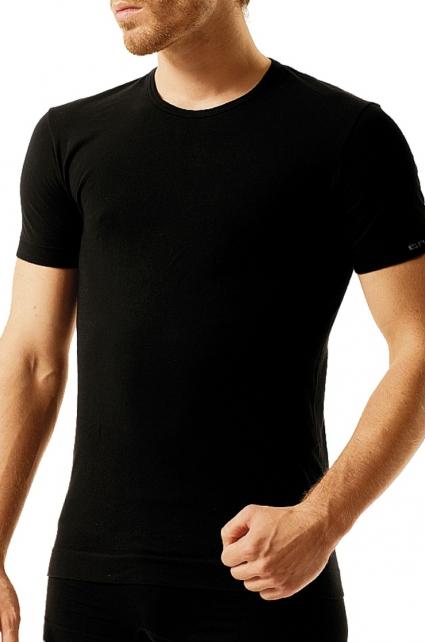 Pánské triko Brubeck SS00990 - Bílá/XL