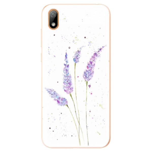 Odolné silikonové pouzdro iSaprio - Lavender - Huawei Y5 2019