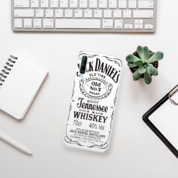 Odolné silikonové pouzdro iSaprio - Jack White - Huawei P Smart Pro