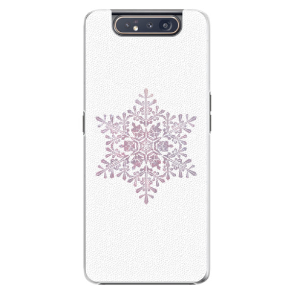 Plastové pouzdro iSaprio - Snow Flake - Samsung Galaxy A80
