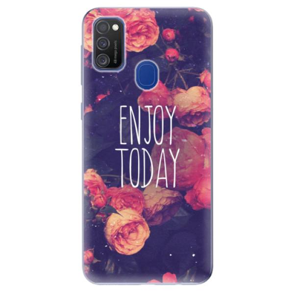 Odolné silikonové pouzdro iSaprio - Enjoy Today - Samsung Galaxy M21