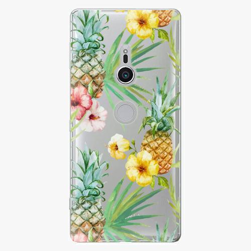 Plastový kryt iSaprio - Pineapple Pattern 02 - Sony Xperia XZ2