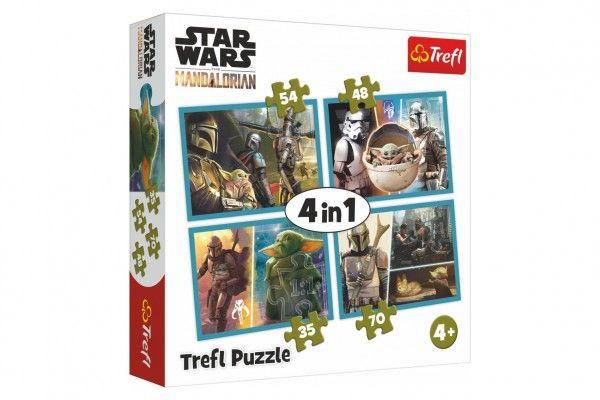 Teddies Puzzle Star Wars Mandalorian, 4v1, 280 x 210 mm