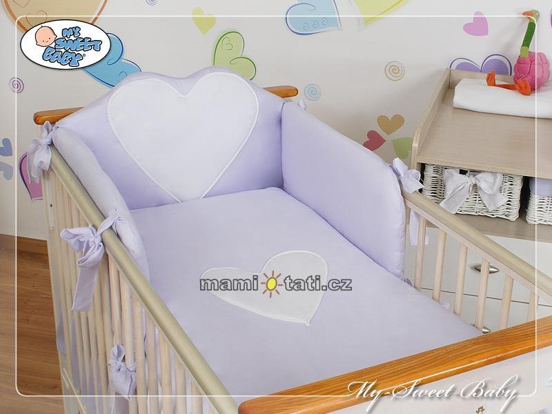 Luxusní povlečení My sweet Baby BIG LOVE - 120x90 L