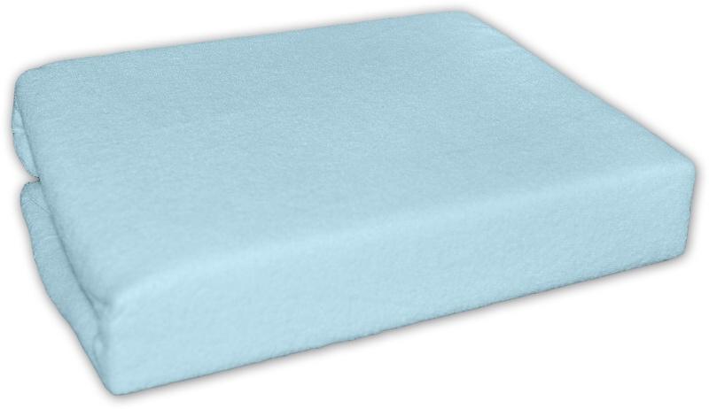 Froté prostěradlo - Modré