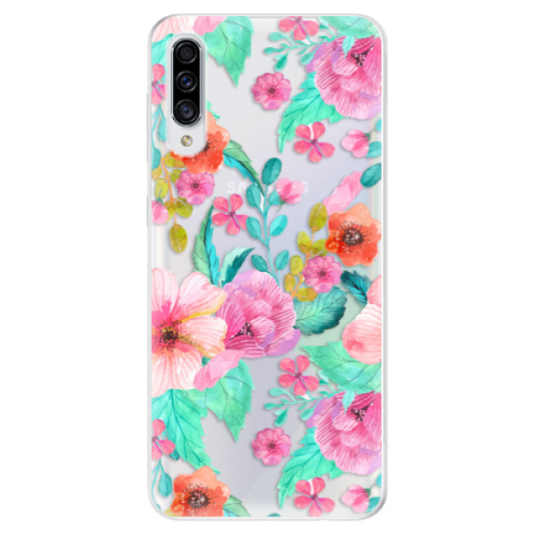 Odolné silikonové pouzdro iSaprio - Flower Pattern 01 - Samsung Galaxy A30s