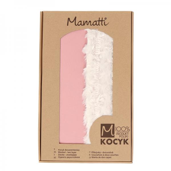 mamatti-detska-oboustranna-bavlnena-deka-s-minky-masle-75-x-90-cm-pudrova-ecru