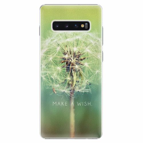 Plastový kryt iSaprio - Wish - Samsung Galaxy S10+