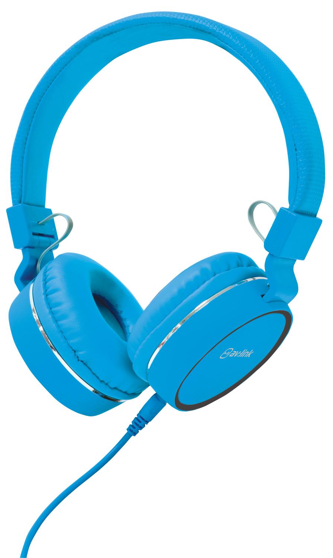 AV:link PH10-BLU, multimediální sluchátka s mikrofonem