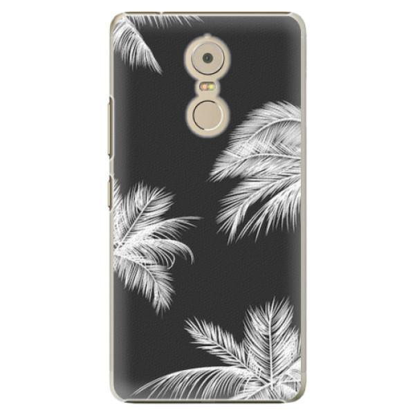 Plastové pouzdro iSaprio - White Palm - Lenovo K6 Note