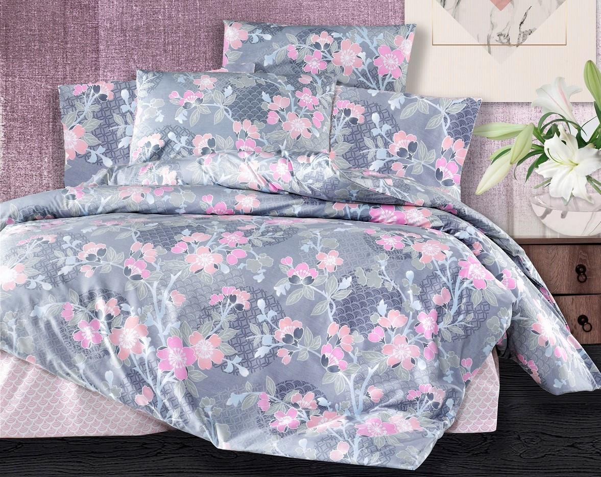 Povlečení francouzské bavlna 240x220,70x90 Sarah pink, Výběr zapínání: