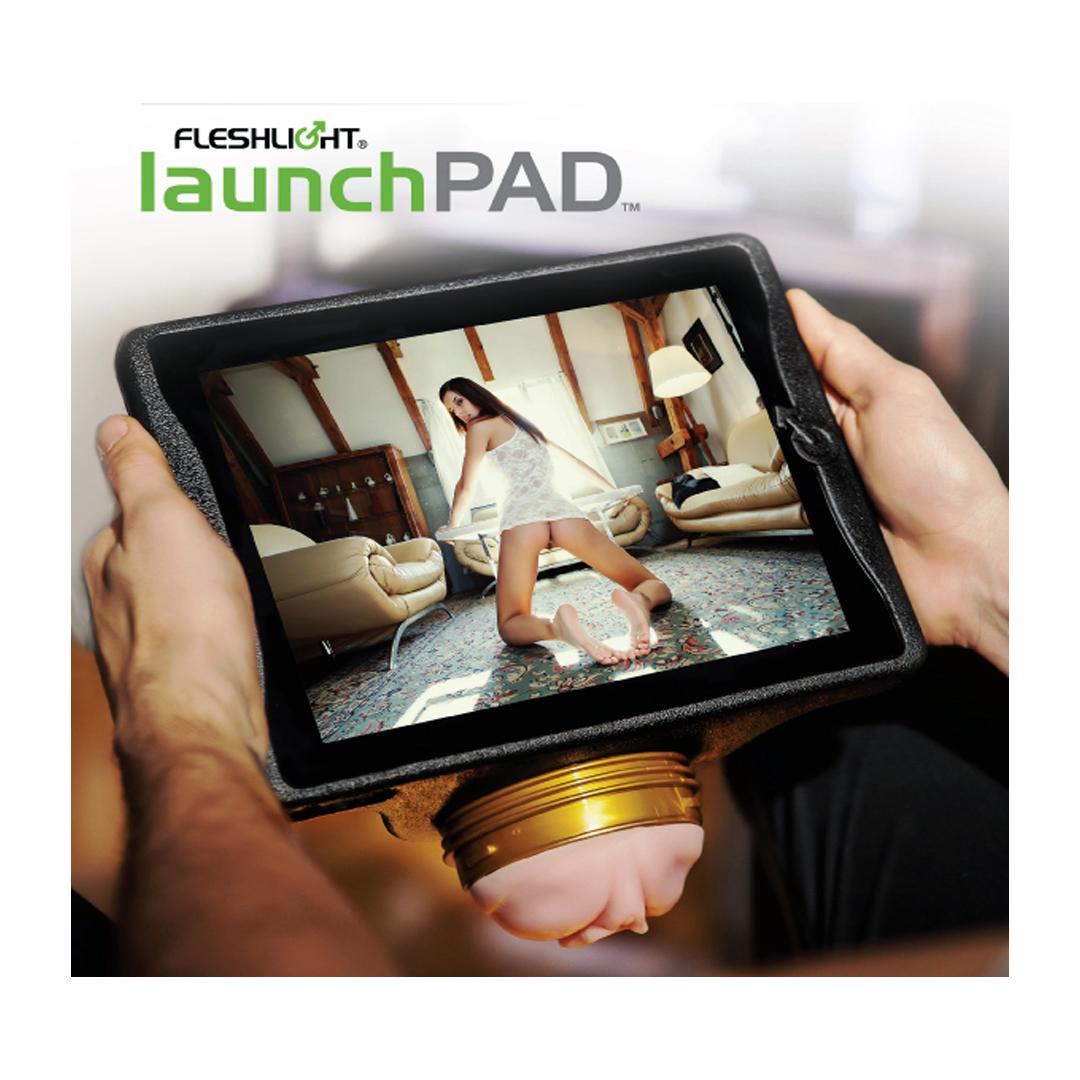 Držák na tablet a Fleshlight vagíny FLESHLIGHT - LAUNCHPAD (IPAD MOUNT)