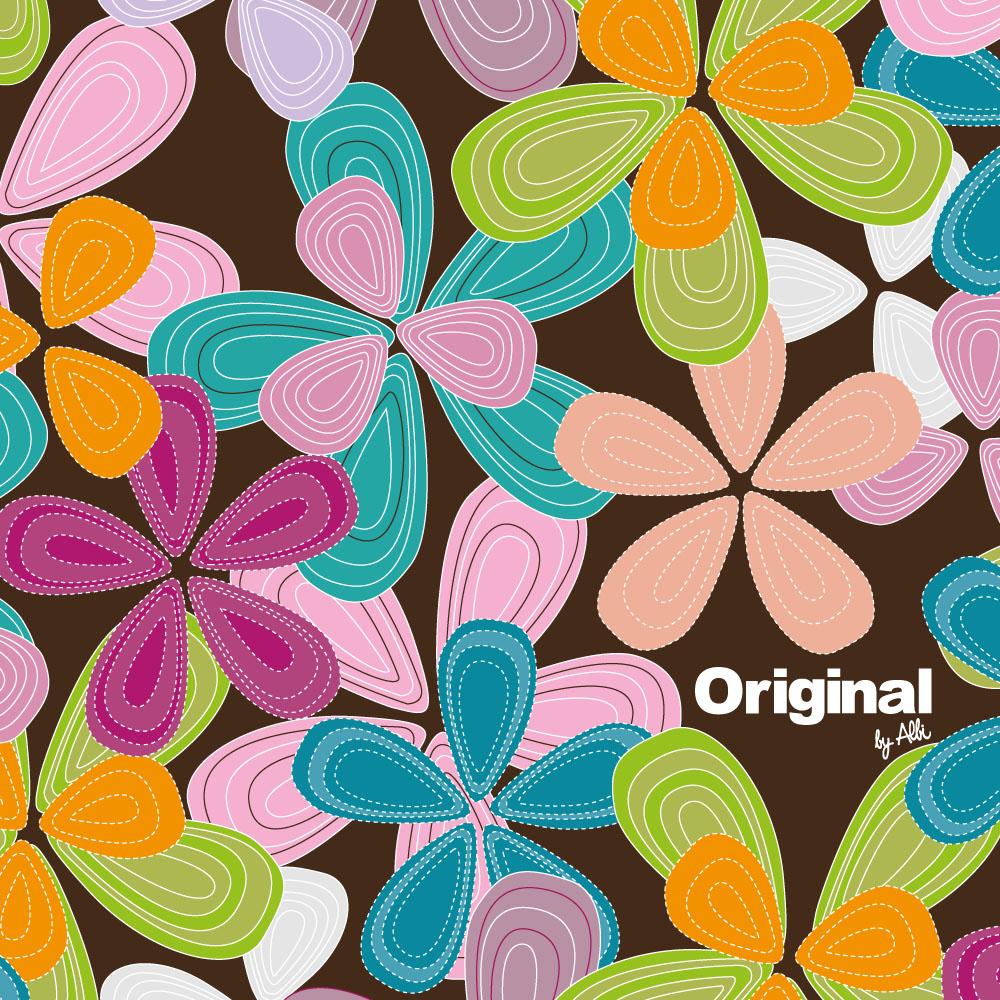 - Termohrnek s barevnými květy