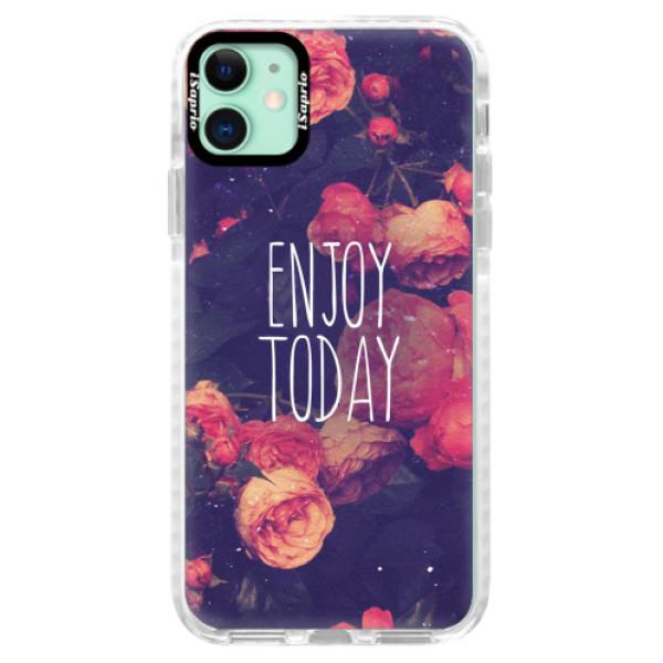 Silikonové pouzdro Bumper iSaprio - Enjoy Today - iPhone 11