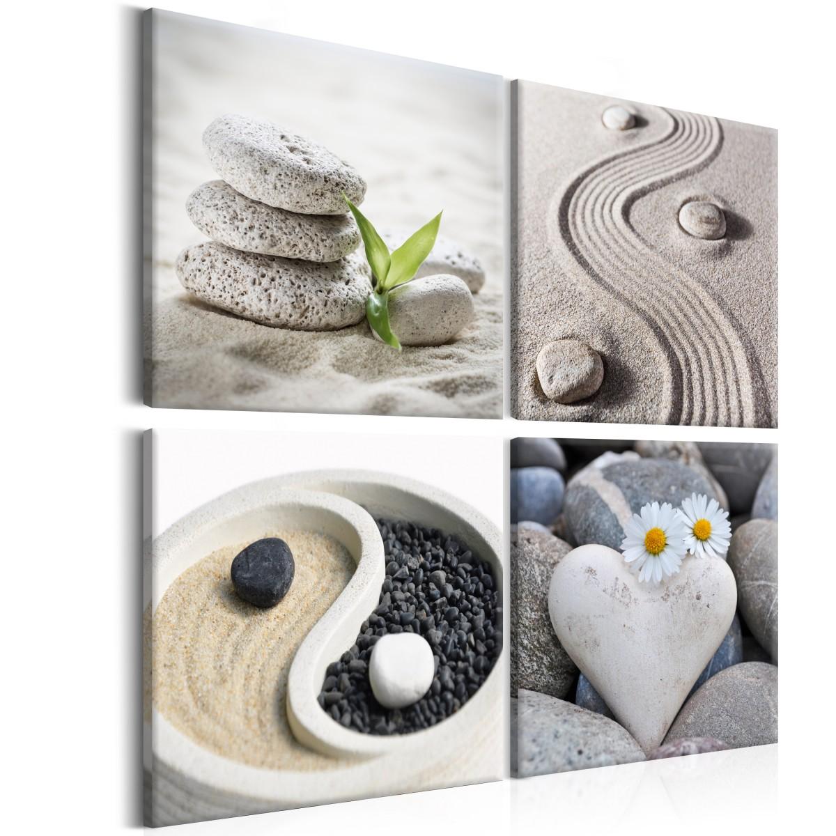 Čtyřdílné obrazy - posvátné amulety