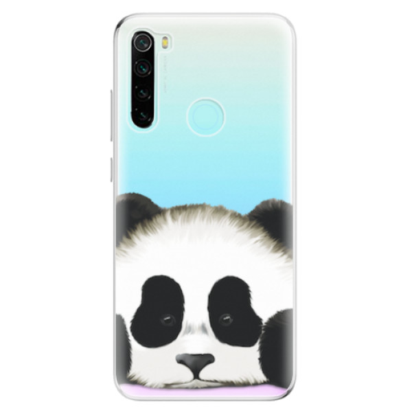 Odolné silikonové pouzdro iSaprio - Sad Panda - Xiaomi Redmi Note 8