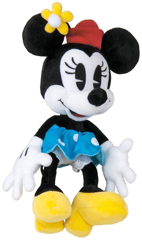 DINO PLYŠ Minnie Mouse retro 25cm 90. výročí Disney *PLYŠOVÉ HRAČKY*