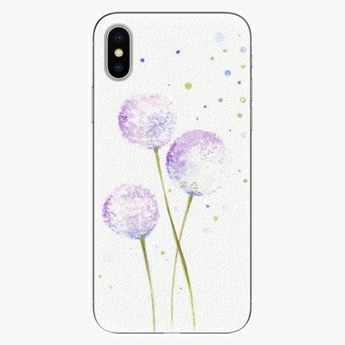 Plastový kryt iSaprio - Dandelion - iPhone X