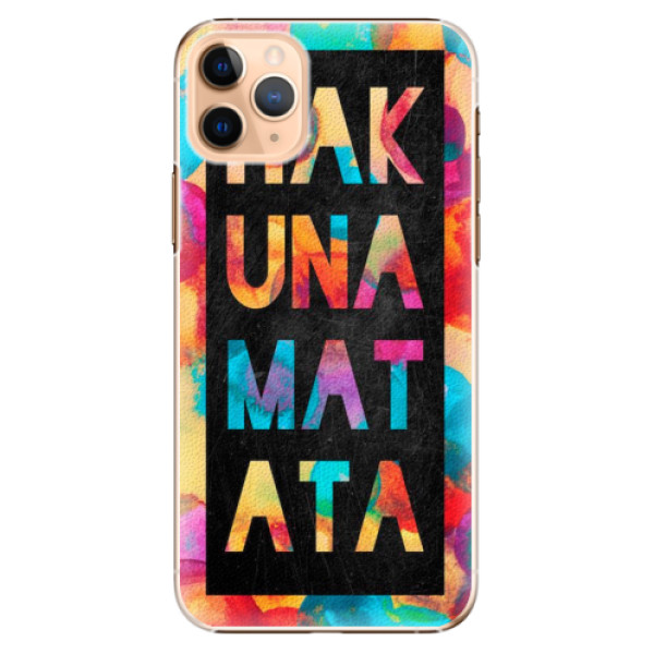 Plastové pouzdro iSaprio - Hakuna Matata 01 - iPhone 11 Pro Max