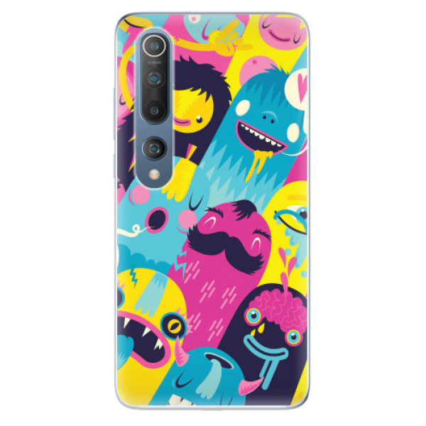 Odolné silikonové pouzdro iSaprio - Monsters - Xiaomi Mi 10 / Mi 10 Pro
