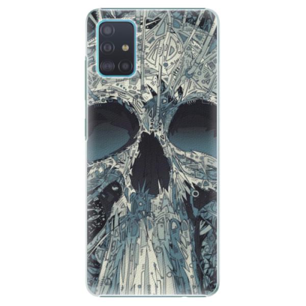 Plastové pouzdro iSaprio - Abstract Skull - Samsung Galaxy A51